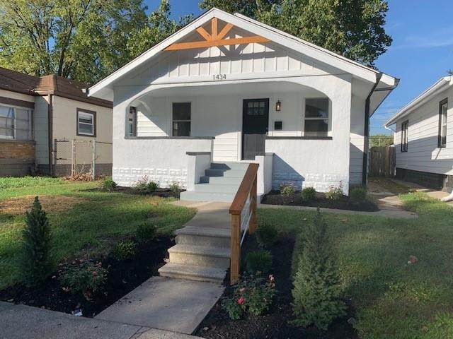 1434 N Grant Avenue, Indianapolis, IN 46201 (MLS #21819254) :: The Evelo Team