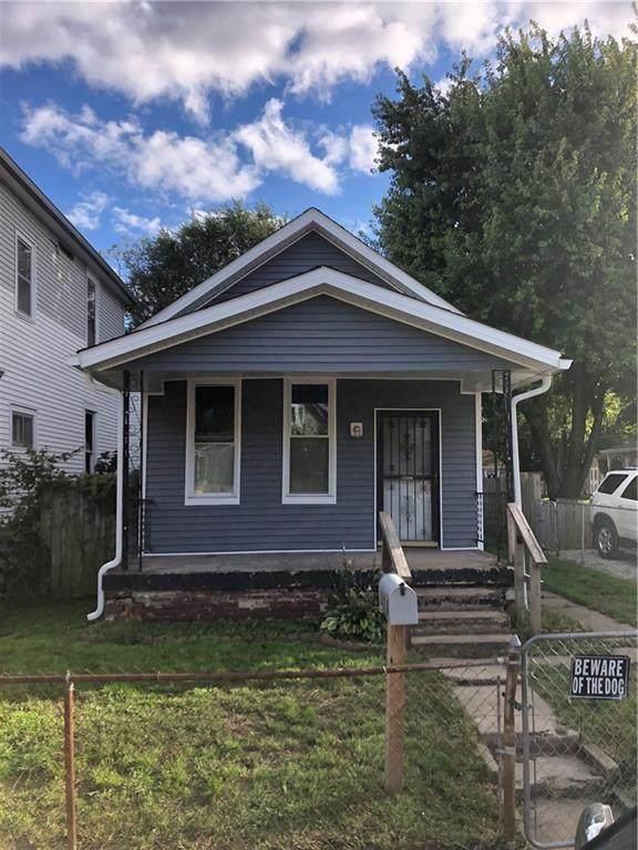 211 Wisconsin Street, Indianapolis, IN 46225 (MLS #21820413) :: Pennington Realty Team