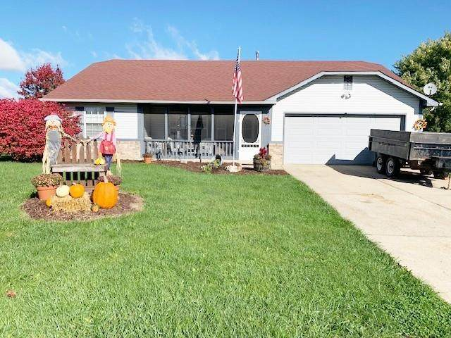 176 Lullaby Court, Greenfield, IN 46140 (MLS #21820438) :: Quorum Realty Group