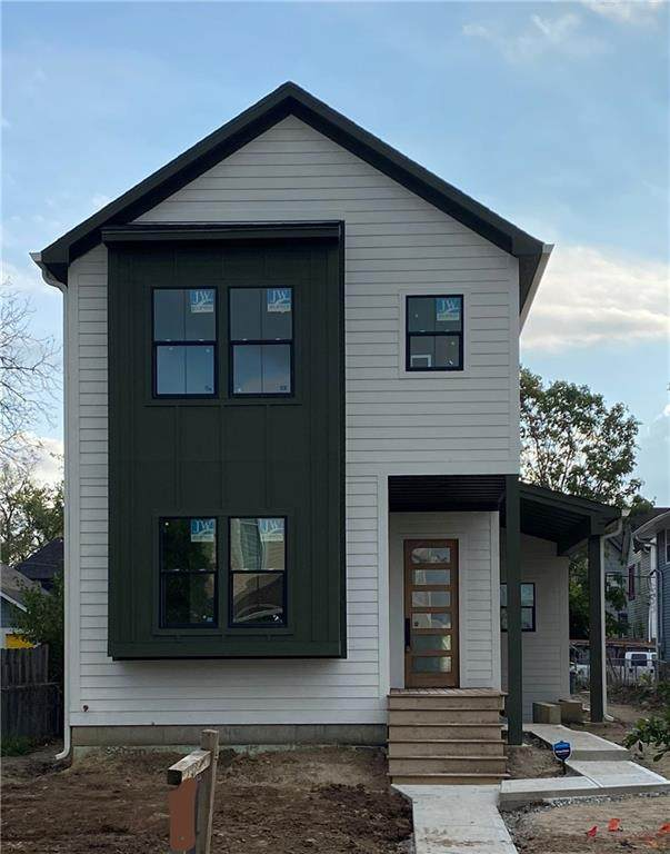 2509 N Carrollton Avenue, Indianapolis, IN 46205 (MLS #21820623) :: AR/haus Group Realty
