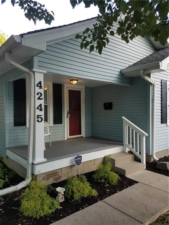 4245 N Evanston Avenue, Indianapolis, IN 46205 (MLS #21597884) :: Mike Price Realty Team - RE/MAX Centerstone