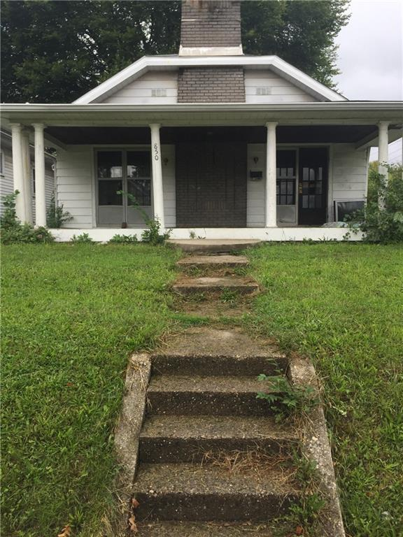 850 N Denny Street, Indianapolis, IN 46201 (MLS #21611343) :: Mike Price Realty Team - RE/MAX Centerstone