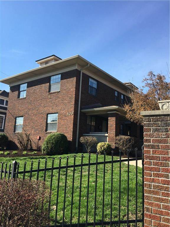 520 Sutherland Avenue D, Indianapolis, IN 46205 (MLS #21701531) :: The Indy Property Source