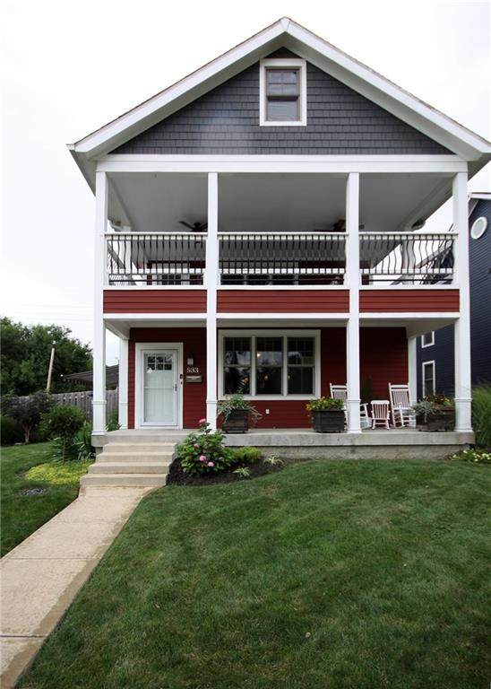 533 Dorman Street, Indianapolis, IN 46202 (MLS #21730559) :: Mike Price Realty Team - RE/MAX Centerstone
