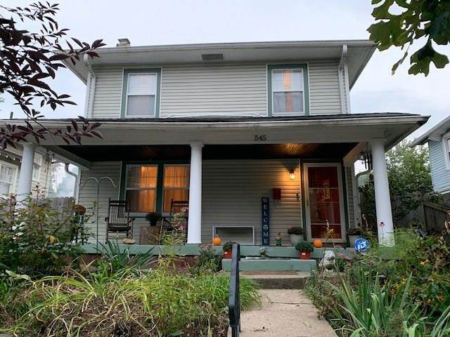 545 E 42nd Street, Indianapolis, IN 46205 (MLS #21738361) :: David Brenton's Team