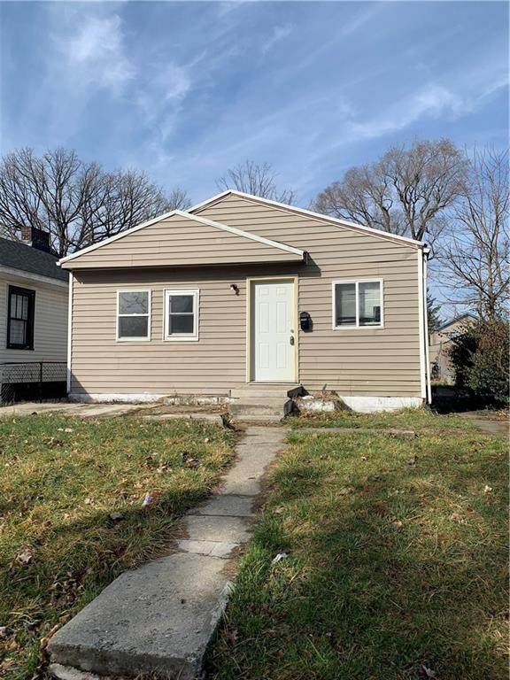 2706 Stuart Street, Indianapolis, IN 46218 (MLS #21767876) :: The Indy Property Source