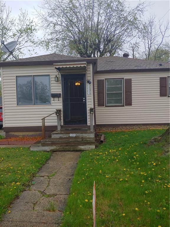 5494 E 18th Street, Indianapolis, IN 46218 (MLS #21776388) :: Heard Real Estate Team | eXp Realty, LLC