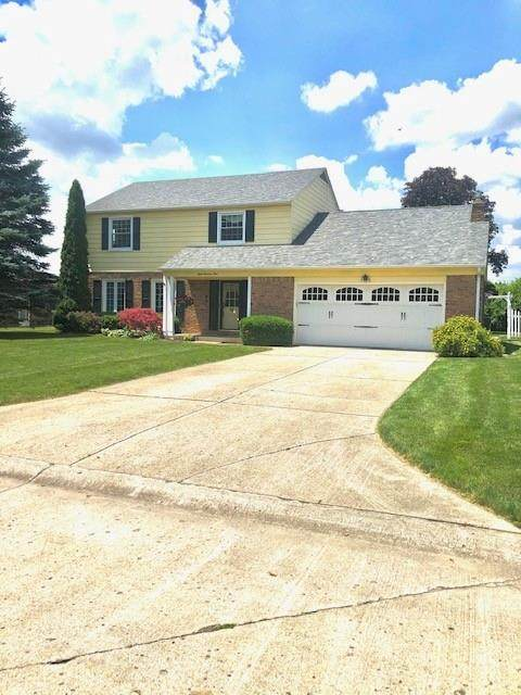 809 Westgate Drive, Anderson, IN 46012 (MLS #21790802) :: The Evelo Team