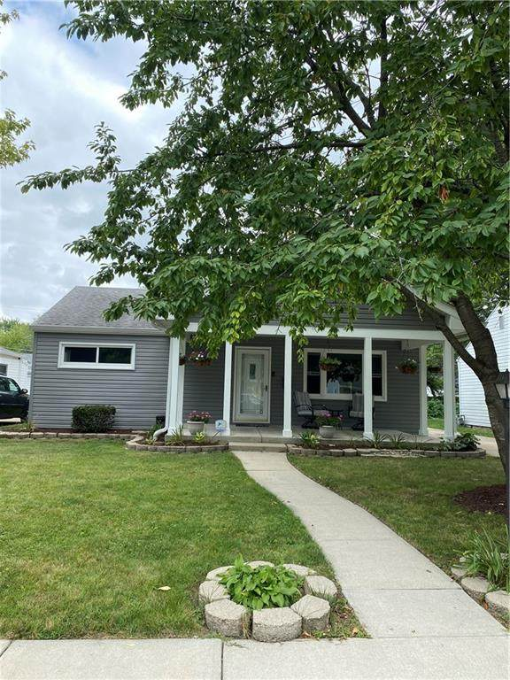 4751 N Longworth Avenue, Indianapolis, IN 46226 (MLS #21805348) :: The Indy Property Source