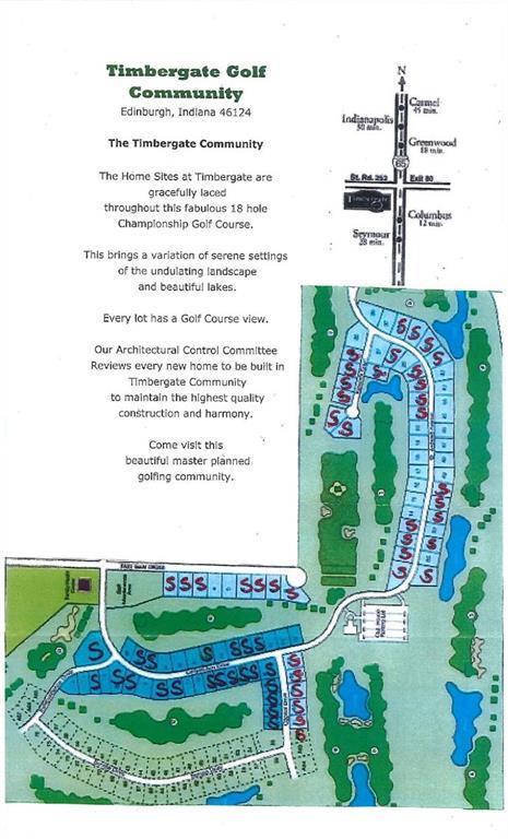Lot 15 St. Andrews Court, Edinburgh, IN 46124 (MLS #21523334) :: The Evelo Team