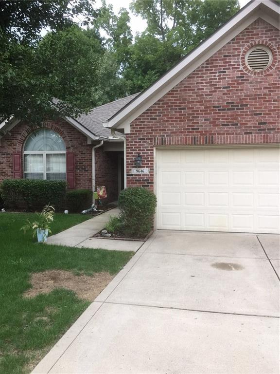 9646 Woodsong Lane, Indianapolis, IN 46229 (MLS #21590471) :: Richwine Elite Group