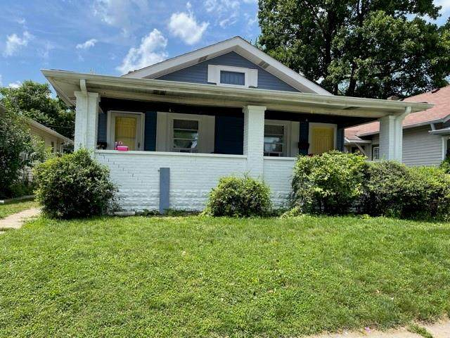 730-732 N Euclid Avenue, Indianapolis, IN 46201 (MLS #21794324) :: The Evelo Team