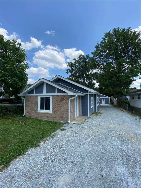 1107 S Whitcomb Avenue, Indianapolis, IN 46241 (MLS #21803859) :: The Evelo Team