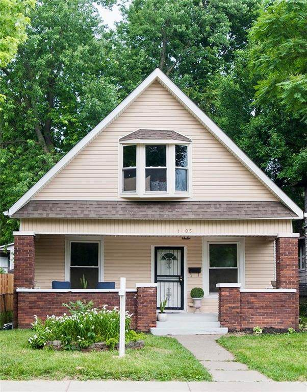 1405 Jefferson Avenue, Indianapolis, IN 46201 (MLS #21781319) :: Mike Price Realty Team - RE/MAX Centerstone