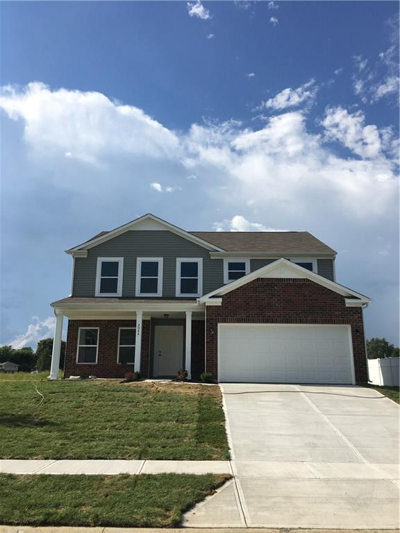 2044 Buckthorn Drive, Columbus, IN 47201 (MLS #21575557) :: The Evelo Team