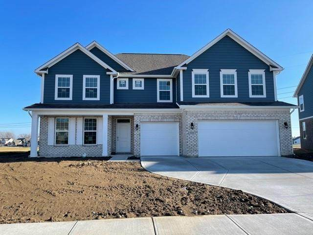 6269 Farlin Drive, Whitestown, IN 46075 (MLS #21730560) :: Realty ONE Group Dream
