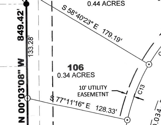 Lot 106 Prairie Acres Part 7, Solon, IA 52333 (MLS #20195124) :: The Johnson Team