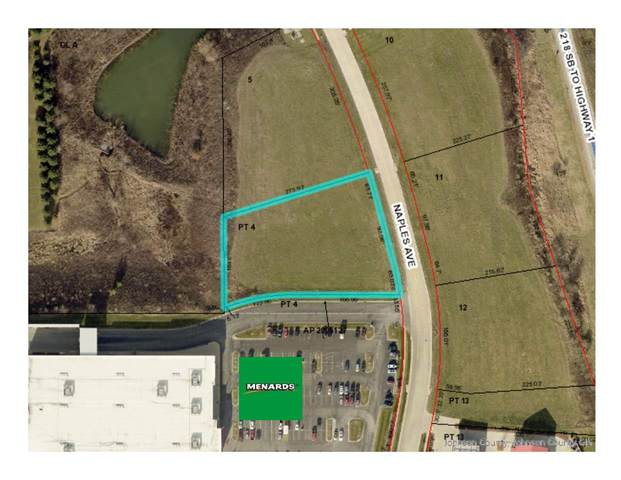 Lot Lot 4 Naples Ave, Iowa City, IA 52240 (MLS #202100544) :: Lepic Elite Home Team