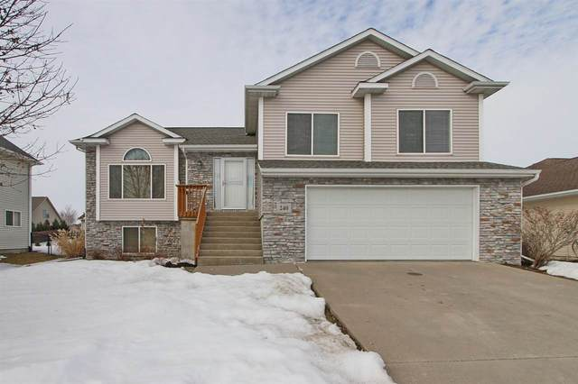 240 Lockview Ave, North Liberty, IA 52317 (MLS #202101223) :: Lepic Elite Home Team