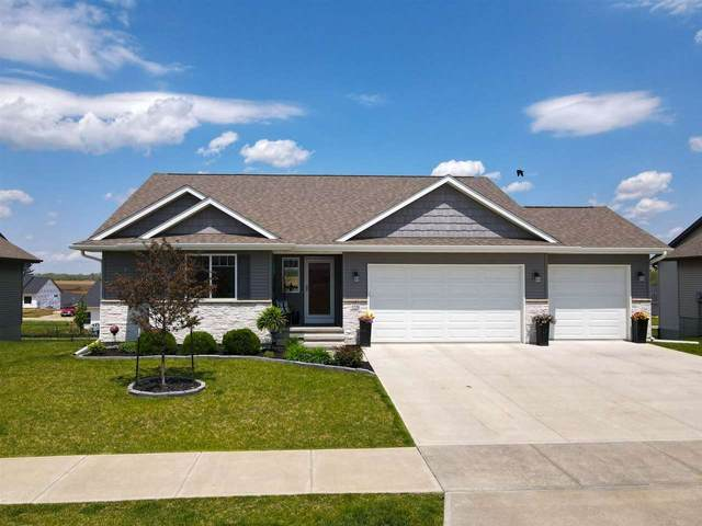 1220 Abraham Dr, North Liberty, IA 52317 (MLS #202102865) :: Lepic Elite Home Team