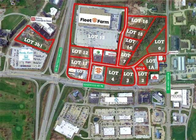 Lot 3 Edgewood Town Centre, Cedar Rapids, IA 52411 (MLS #202104269) :: Lepic Elite Home Team