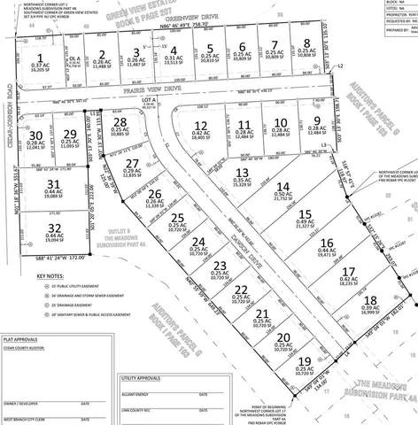 Lot 6 The Meadows Subdivision Part 4B, West Branch, IA 52358 (MLS #202104549) :: Lepic Elite Home Team
