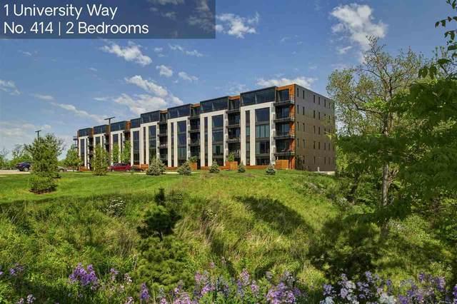 1 University Way No. 414, Iowa City, IA 52246 (MLS #202100030) :: Lepic Elite Home Team