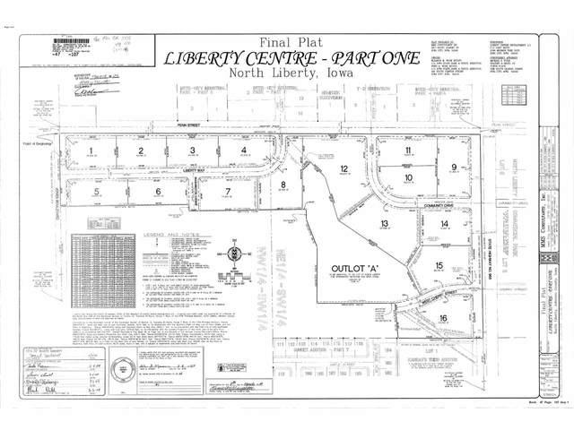 1085 Liberty Way  Lot 5, North Liberty, IA 52317 (MLS #202100166) :: Lepic Elite Home Team