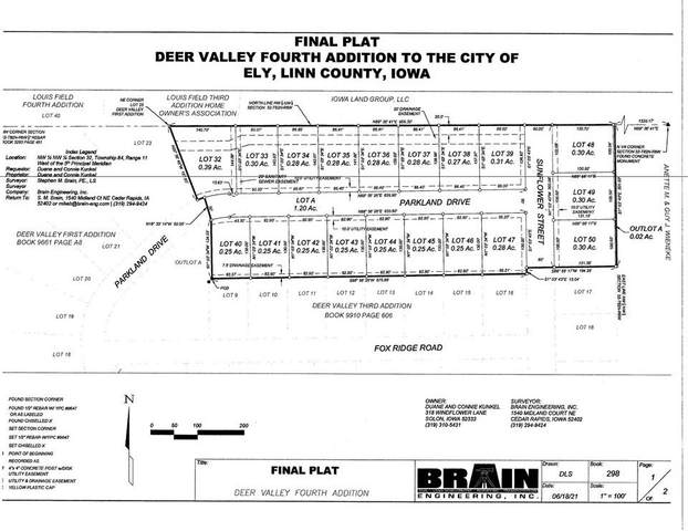 Lot 43 Deer Valley Subdivision, Ely, IA 52227 (MLS #202104379) :: The Johnson Team