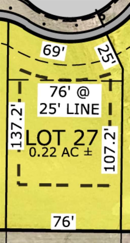 Lot 27 Greenbelt Trail Subdivsion, North Liberty, IA 52317 (MLS #20195714) :: Lepic Elite Home Team
