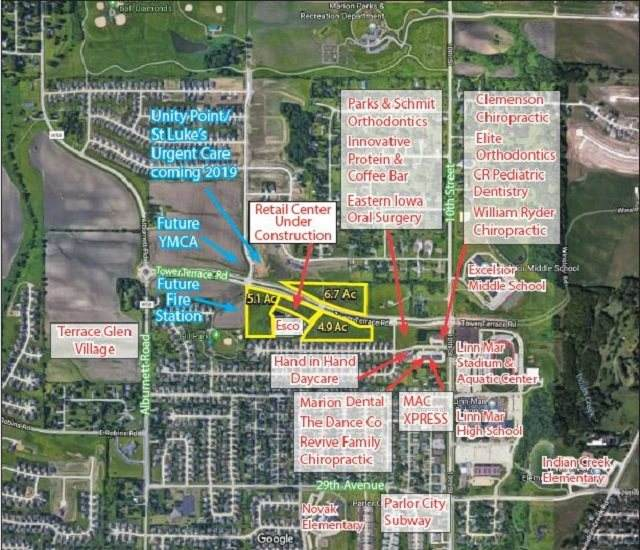 Lot 2 Tower Terrace Rd, Marion, IA 52302 (MLS #202103762) :: The Johnson Team