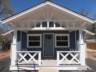 657 W 1st St, Loveland, CO 80537 (MLS #818354) :: 8z Real Estate