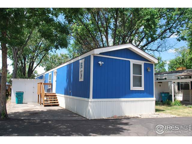 3109 E Mulberry St #26, Fort Collins, CO 80524 (#4747) :: The Griffith Home Team