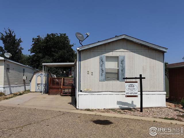 301 Spaulding Ln #22, Fort Collins, CO 80524 (#4784) :: Re/Max Structure