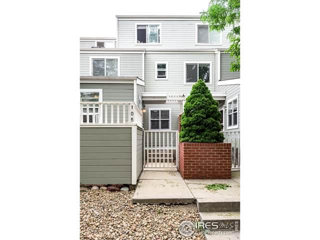 3077 29th St #105, Boulder, CO 80301 (MLS #943970) :: J2 Real Estate Group at Remax Alliance