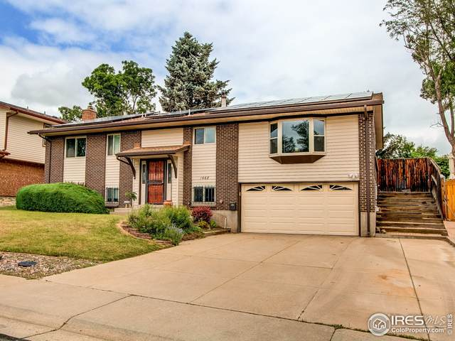 1468 S Ward St, Lakewood, CO 80228 (MLS #944200) :: Tracy's Team