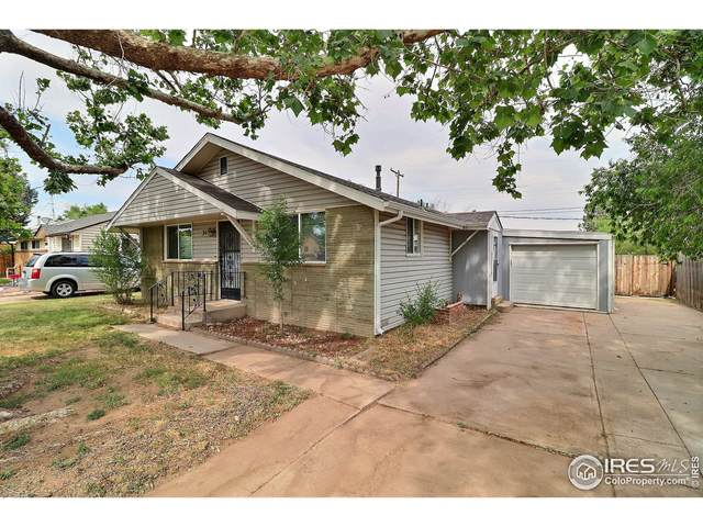312 16th Ave Ct, Greeley, CO 80631 (#944232) :: Compass Colorado Realty