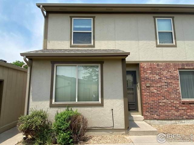 4323 W 9th St Rd #21, Greeley, CO 80634 (MLS #945130) :: Bliss Realty Group