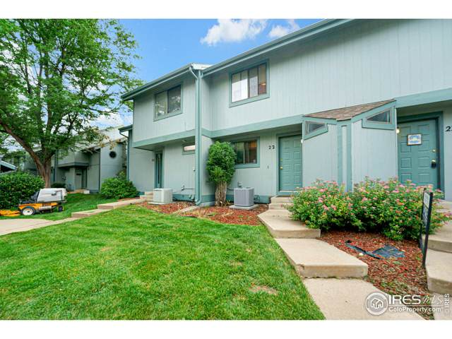 1610 Westbridge Dr #22, Fort Collins, CO 80526 (MLS #945992) :: Bliss Realty Group