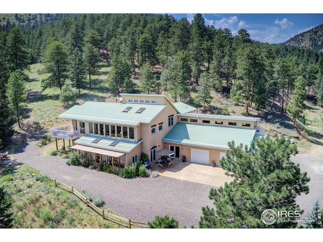 3901 Overland Rd, Jamestown, CO 80455 (MLS #946241) :: J2 Real Estate Group at Remax Alliance