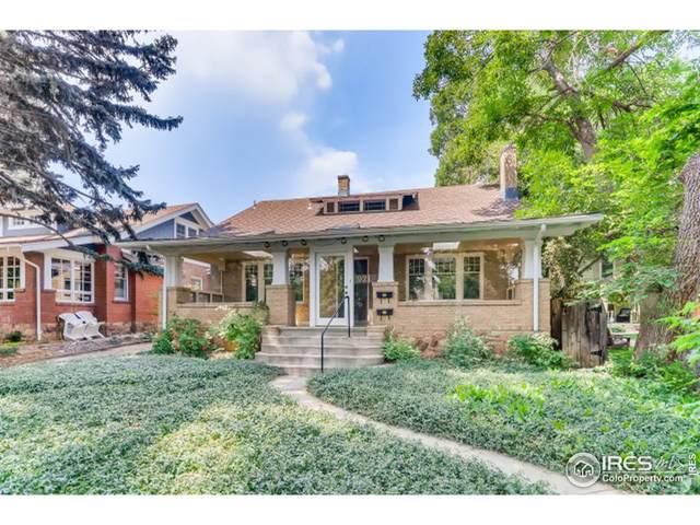 921 Spruce St, Boulder, CO 80302 (MLS #946264) :: J2 Real Estate Group at Remax Alliance