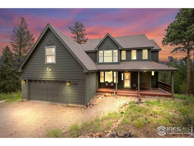 447 Crescent Lake Rd, Golden, CO 80403 (MLS #946606) :: Keller Williams Realty