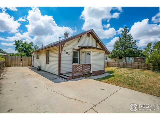 1804 2nd St, Greeley, CO 80631 (MLS #946651) :: Coldwell Banker Plains