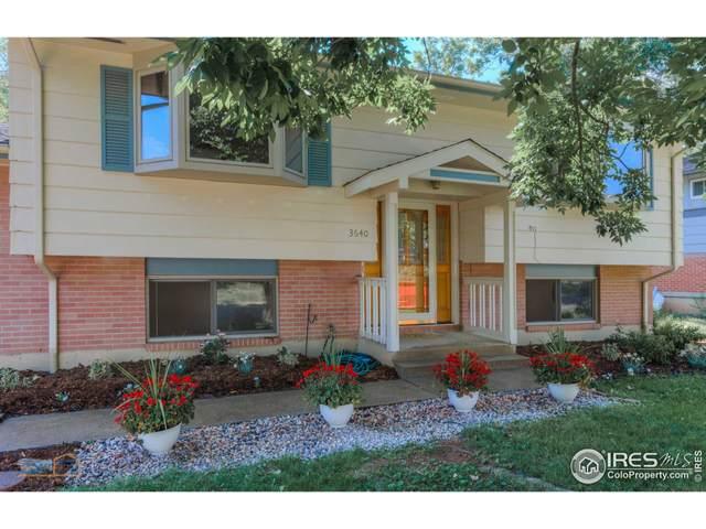 3640 Cloverleaf Dr, Boulder, CO 80304 (MLS #946718) :: Jenn Porter Group