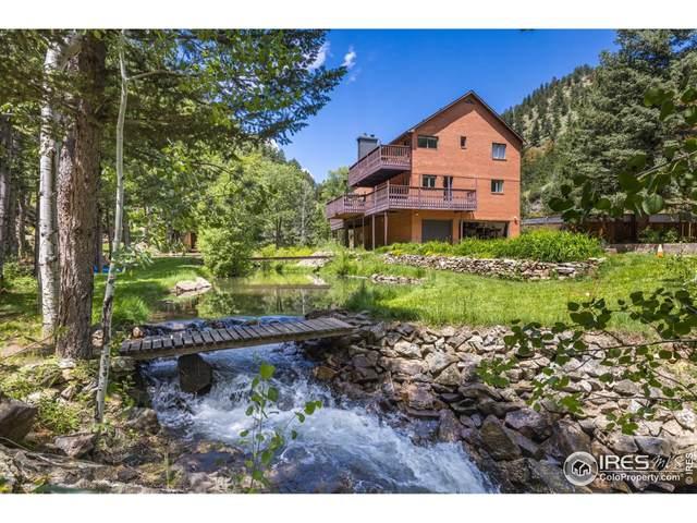 8768 Fourmile Canyon Dr, Boulder, CO 80302 (#946923) :: iHomes Colorado