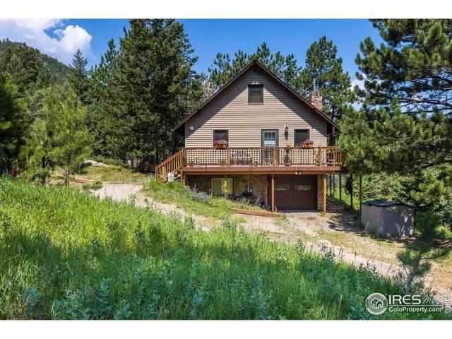 97 Moose Rd, Lyons, CO 80540 (MLS #946990) :: Jenn Porter Group