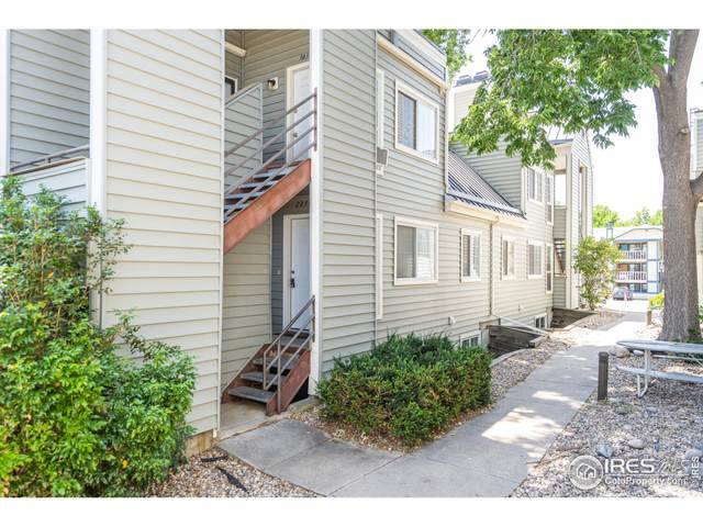 1301 University Ave C203, Fort Collins, CO 80521 (MLS #947191) :: Downtown Real Estate Partners