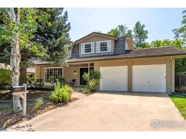 4785 Mckinley Dr, Boulder, CO 80303 (MLS #947267) :: J2 Real Estate Group at Remax Alliance