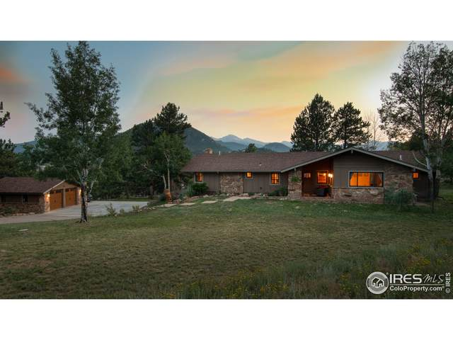 833 Panorama Cir, Estes Park, CO 80517 (MLS #947442) :: J2 Real Estate Group at Remax Alliance