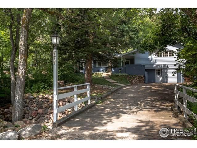 777 Willowbrook Rd, Boulder, CO 80302 (MLS #947799) :: Find Colorado